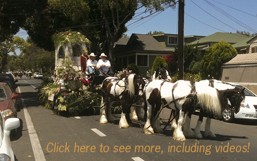 August 6, 2010: A fun and unexpected ride thru some Fiesta Parade Artifacts