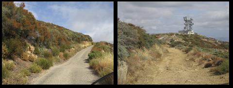 Along West Camino Cielo