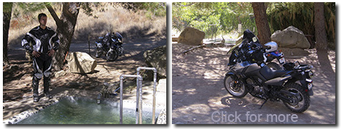 2010-10-11 Ashe and Ian ride to Agua Caliente Spring